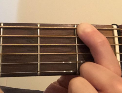 Beginner Basics ~The Proper Place to Hold Down a Fret + Basic Positioning